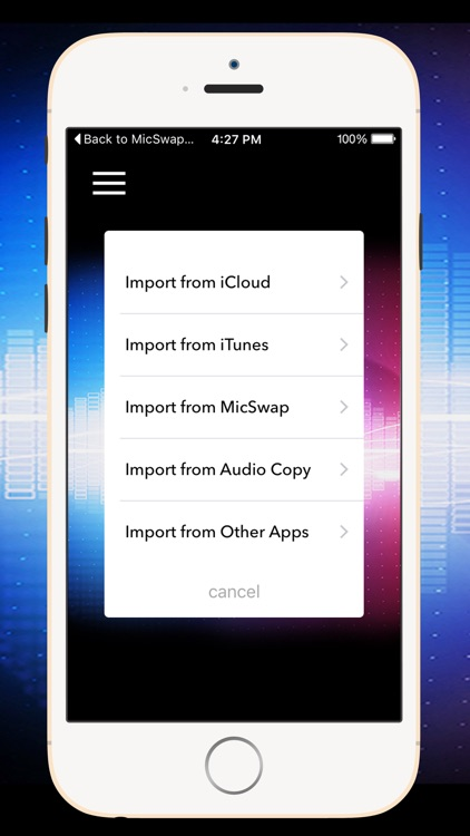 AudioMaster: For Podcasts and Music app image