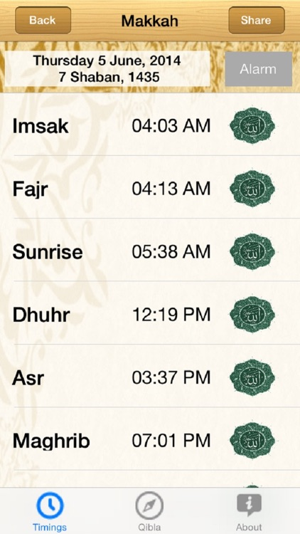 Saudi Arabia Prayer Timings screenshot-0