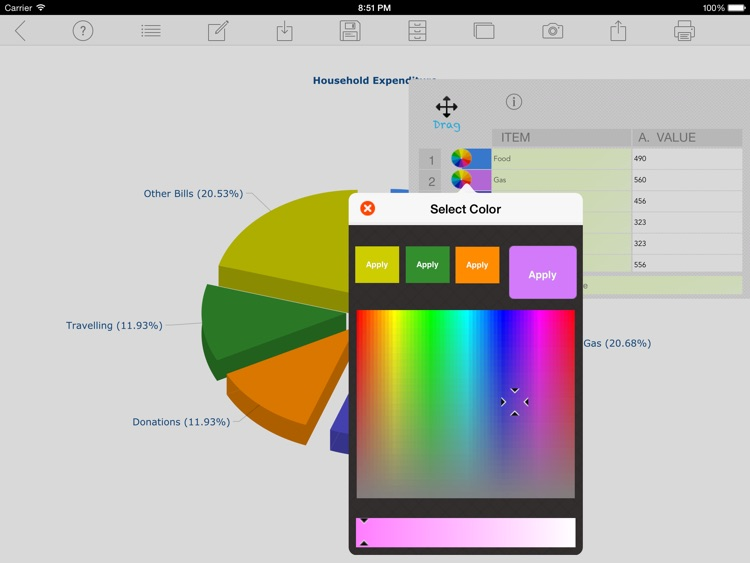 Chart Maker Pro screenshot-1