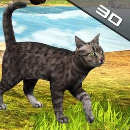 Crazy Cat Simulation City Walk Away