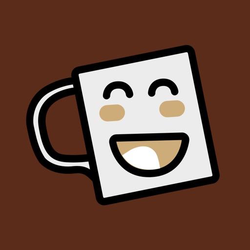 Fun Coffee Stickers
