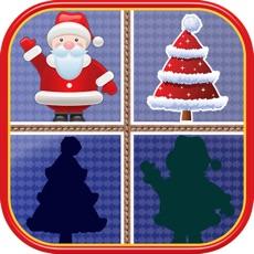 Activities of Christmas Matching Pairs - Santa Slaus and Xmas
