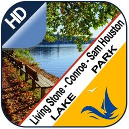 Living Stone Conroe Sam Houston lake & park trails