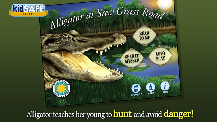 Alligator at Saw Grass Road - Smithsonian's screenshot-0
