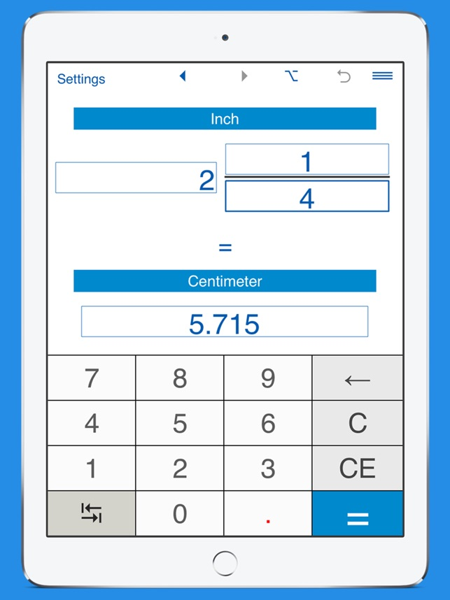 Convert Length Height And Distance Decimal And Fractional