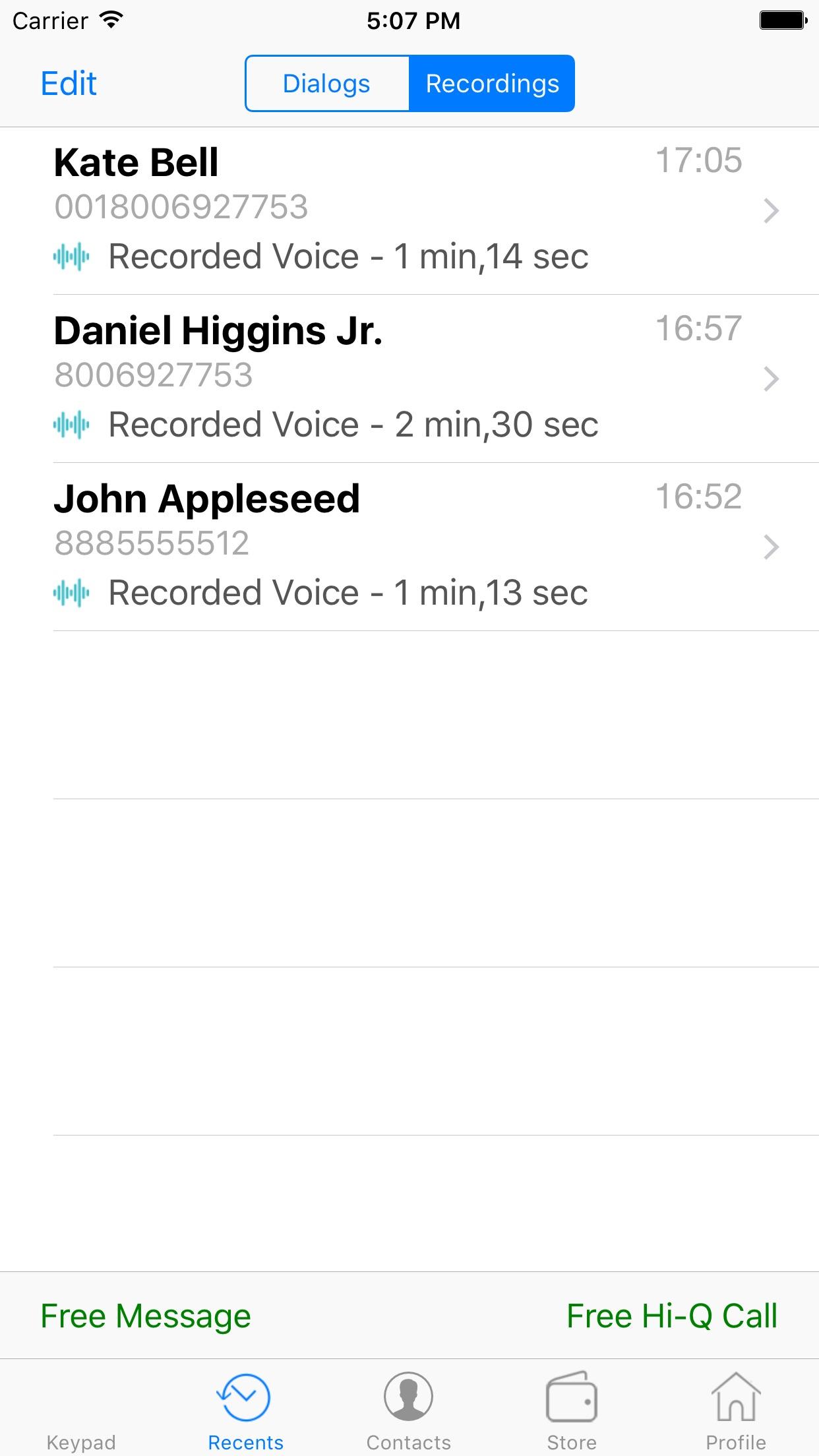 WePhone - free phone calls & international calling Screenshot