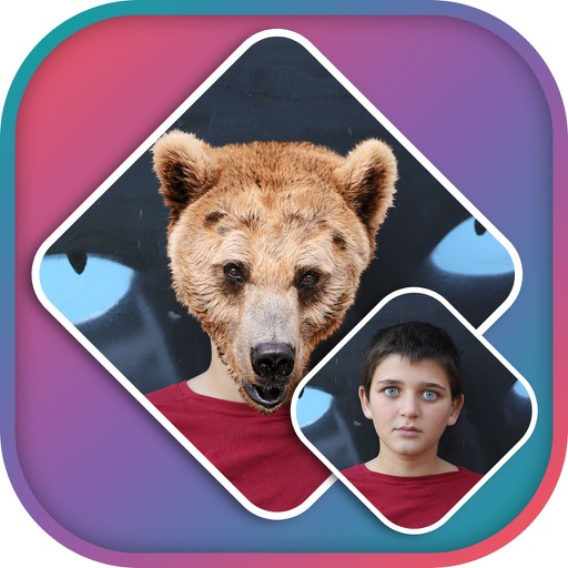 Animal Faces Photo Editor - Animal Faces Booth