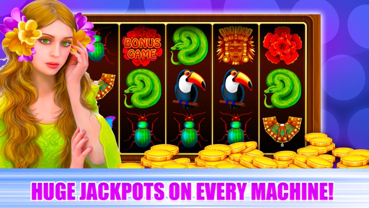 Slot Machines Free - Reel Wheel screenshot-4