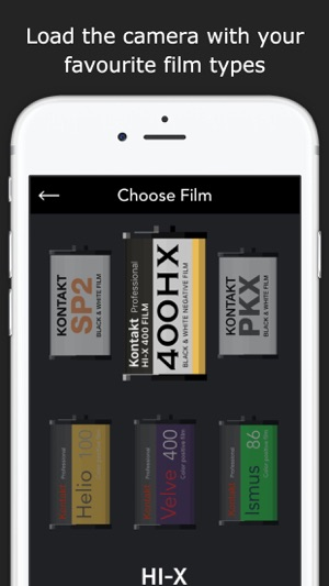 Kontakt PRO 35mm Film Camera on the App Store
