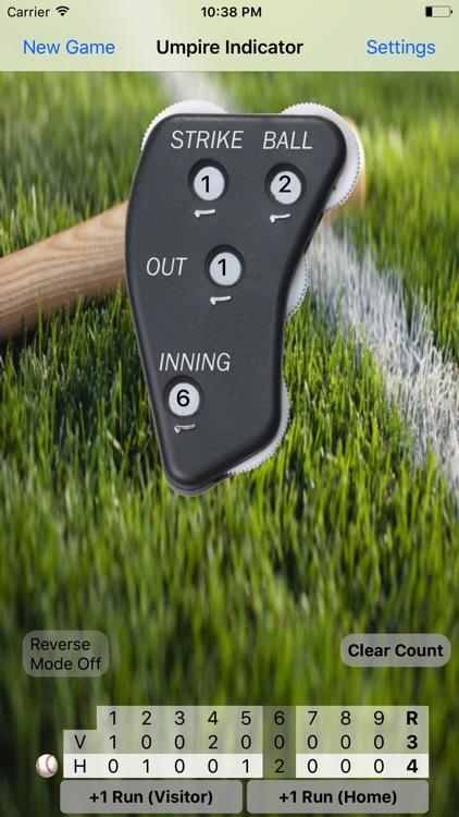 Umpire Indicator Pro