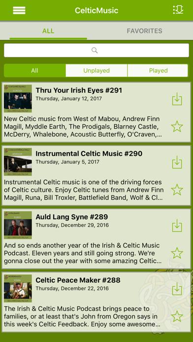 Irish & Celtic Music screenshot three