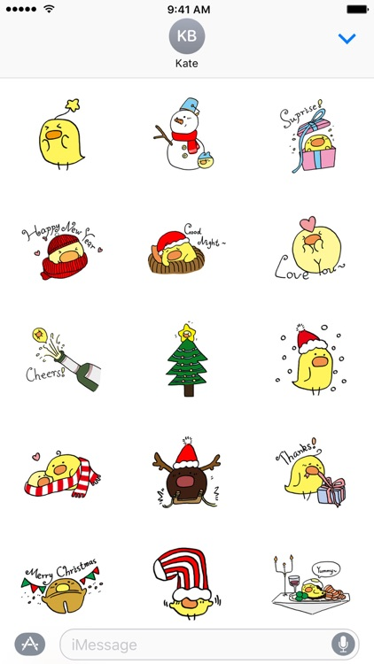 GUJI'S CHRISTMAS − NHH Stickers screenshot-2