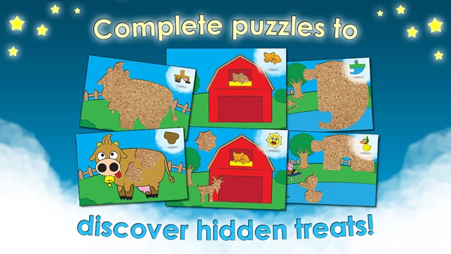 Farm Games Animal Puzzles Para Crianças Toddler Screenshot