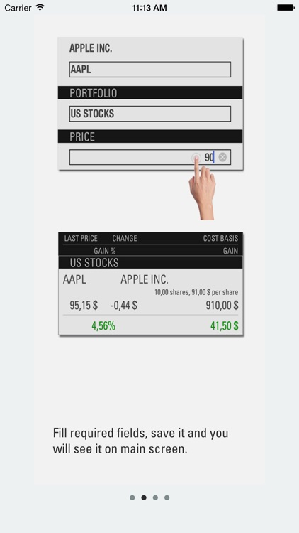 Portfolio Manager App screenshot-2