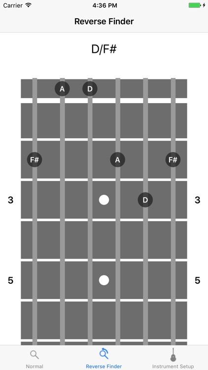 Fretter - Chordfinder Lite screenshot-3