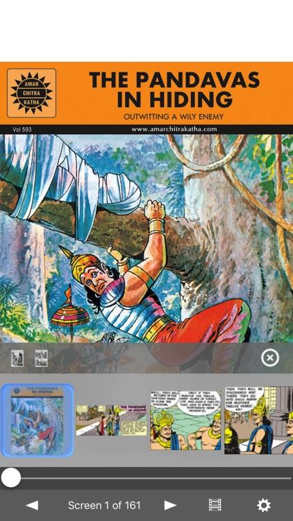 Pandavas In Hiding -  Amar Chitra Katha Comics