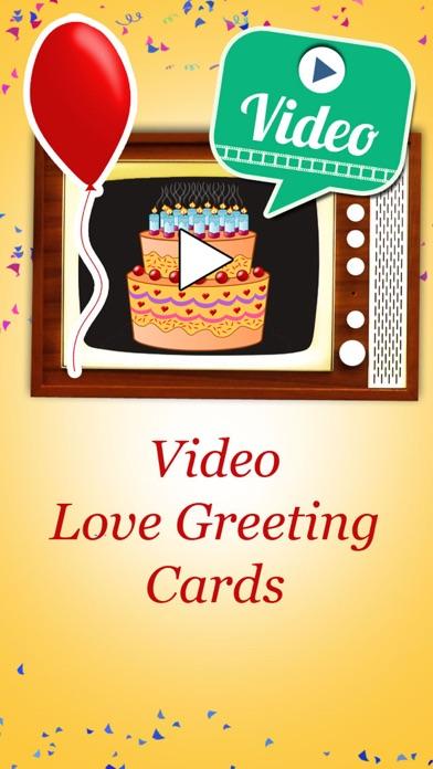 Happy Birthday Videos - Animated Video Greetings screenshot 1