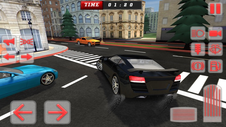Race Car Driving Simulator: City Driving Test 3D screenshot-3