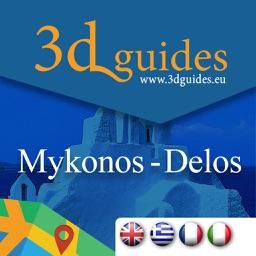 Mykonos - Delos by 3DGuides