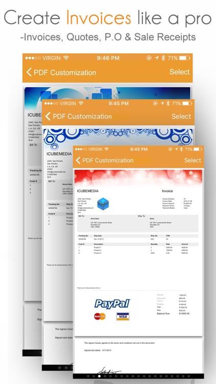 Invoice Manager: Create, Send Invoice and Estimate