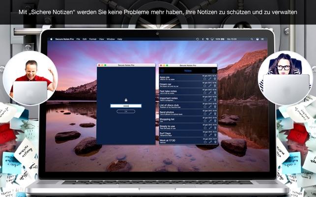 Secure Notes Pro Screenshot