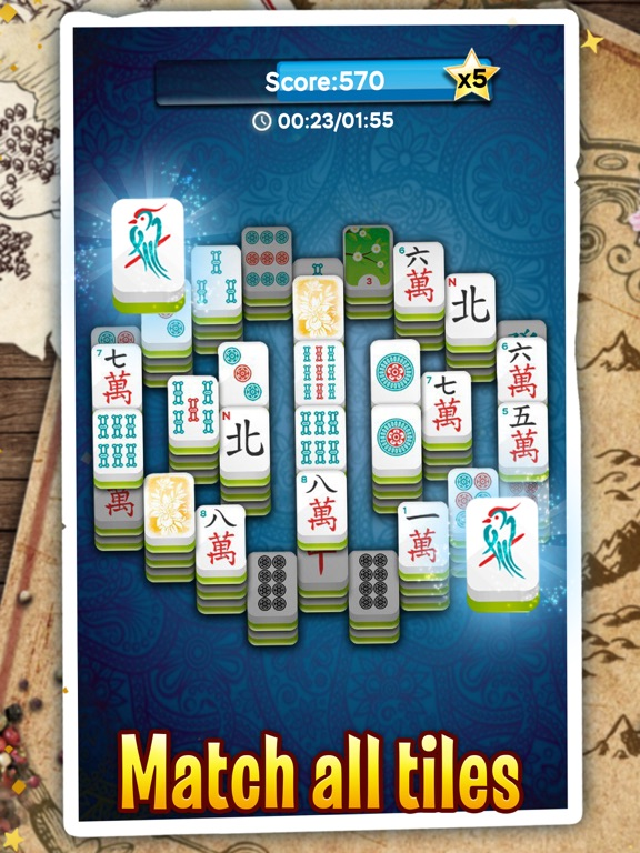 Mahjong Solitaire Dragon screenshot