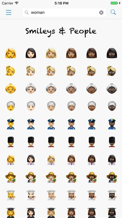 Smileys - Lookup Emoji names and meanings screenshot-3