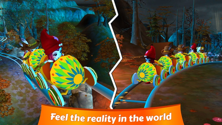 VR Christmas Roller Coaster screenshot-0