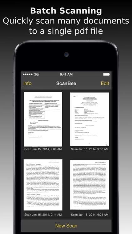 ScanBee - Scanner & copier screenshot-4