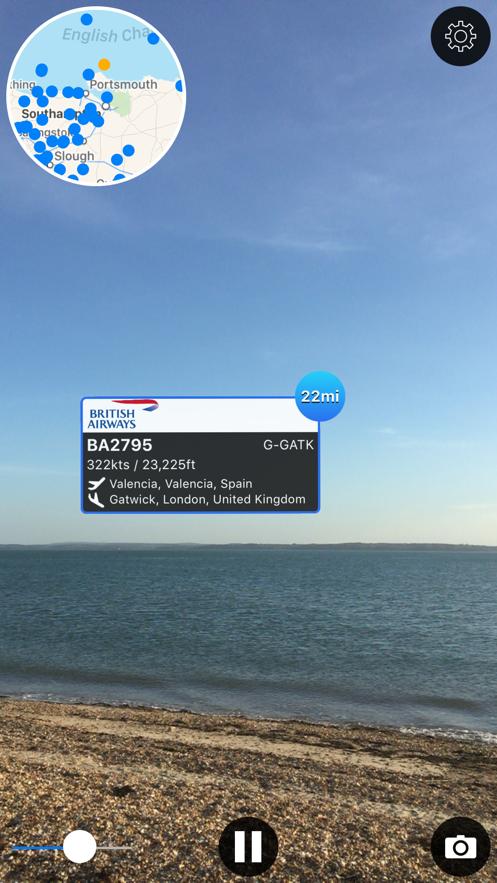 Plane Finder AR App 截图