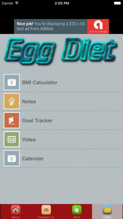 Egg Diet For Weight Loss Plan screenshot-3