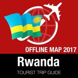 Rwanda Tourist Guide + Offline Map