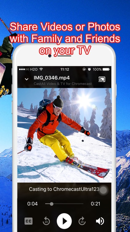 Cast All Video & TV for Chromecast screenshot-4
