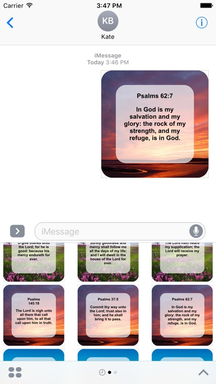 Pray-Verse Stickers
