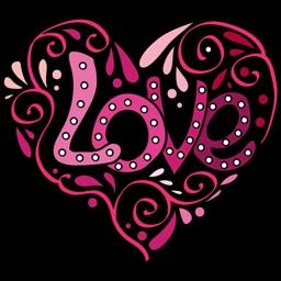 Love Art Stickers