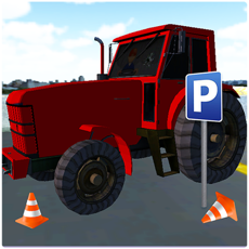 Activities of Tractor Parking 3D Simulation - Real Tractors