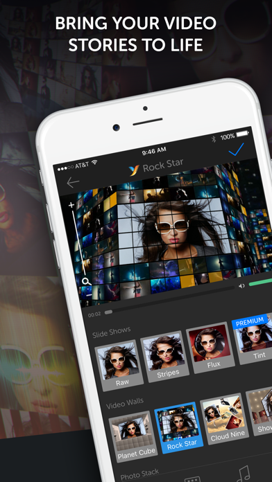YouStar: Video Merge & Special Effects for Videos screenshot one