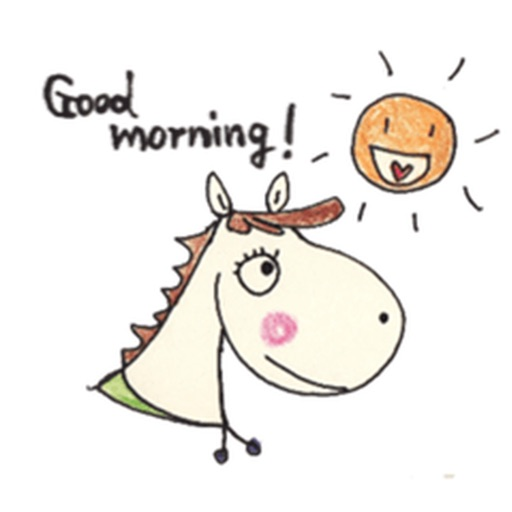 Cute Horse Stickers