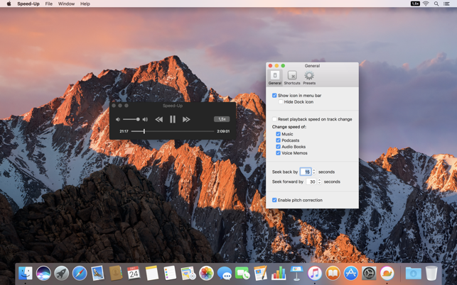 Speed-Up for iTunes on the Mac App Store