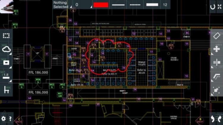 CAD On The Go - edit 2D/3D AutoCAD DWG/DFX files screenshot-4