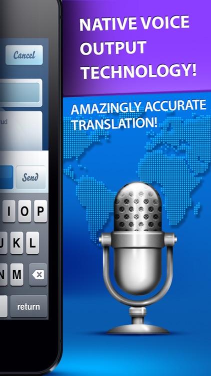 Speech Translator - Translate voice & text screenshot-3