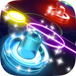 Glow Hockey HD - New Galaxy War Air Hockey