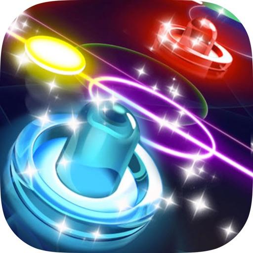 Glow Hockey HD 2 воздушный хоккей галактика война