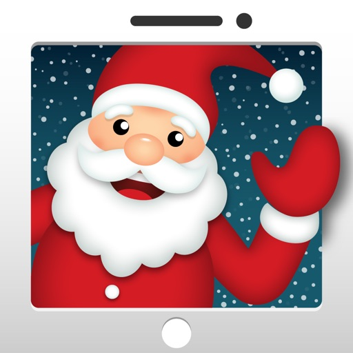 Video Call with Santa icon