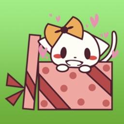 Cat The Best Cute Gift Sticker