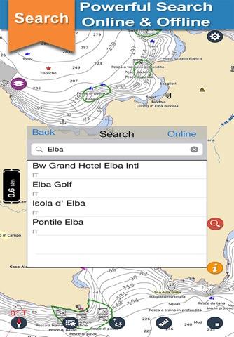 Archipelago Tuscan offline nautical fishing charts - náhled