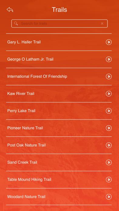 Kansas State Parks & Trails screenshot three