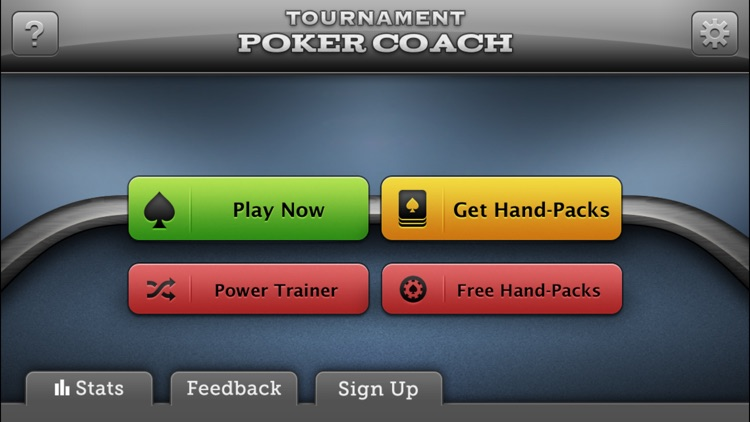 Tournament Poker Coach