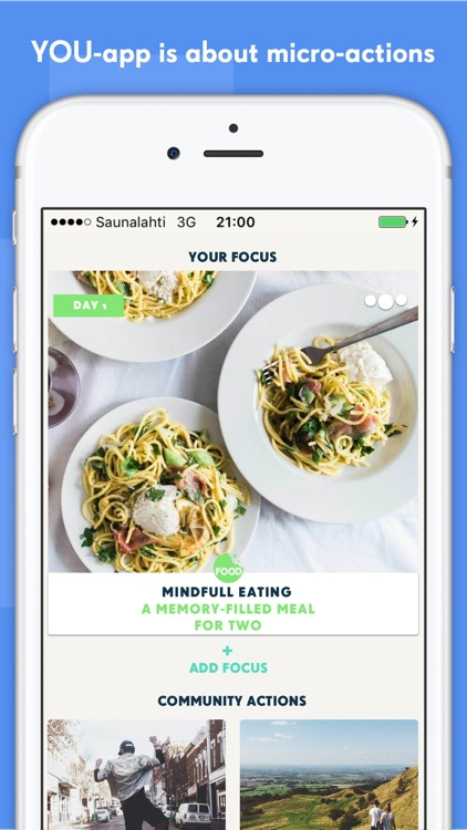 YOU-app - Micro-actions for health and happiness screenshot-0