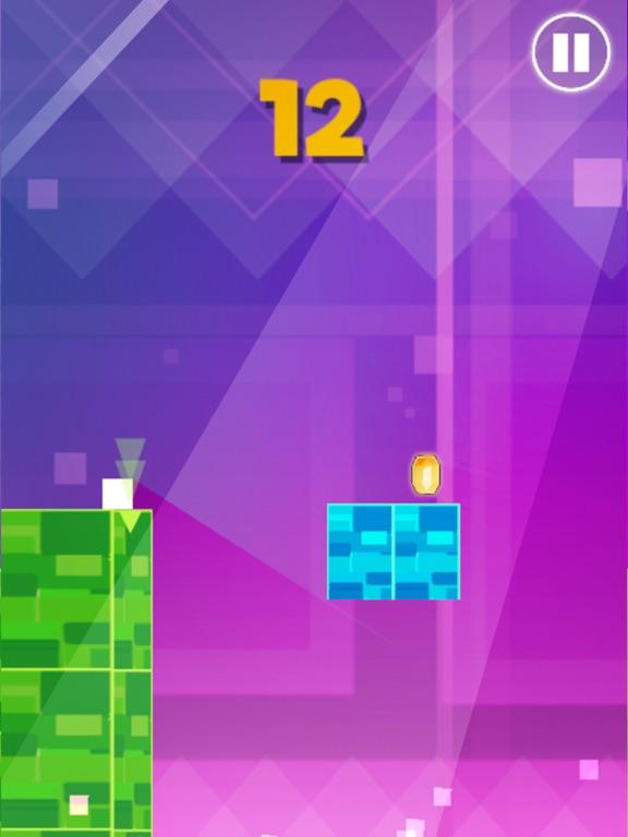 Ninja Block Jumpy : Geometry Dance Escape Game 2 !-ipad-2